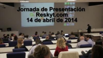 Video de la Jornada de presentación Reskyt