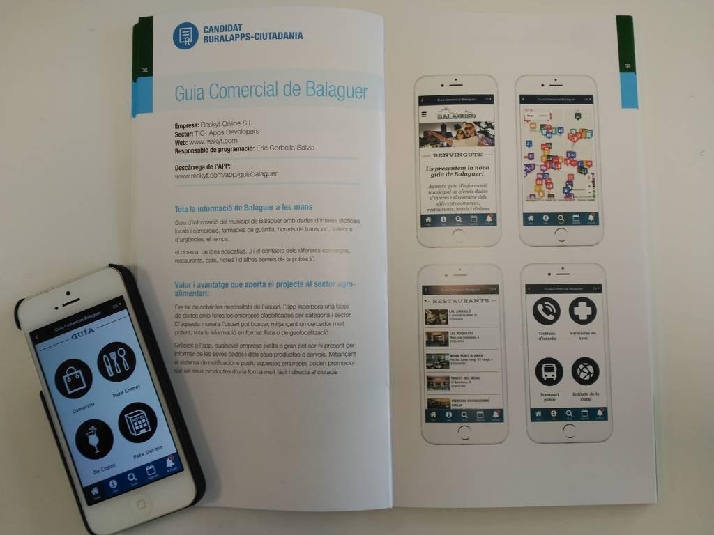 Guide alimentaire App Territoire et Balaguer de l'App, les candidats pour les Prix RURALAPPS
