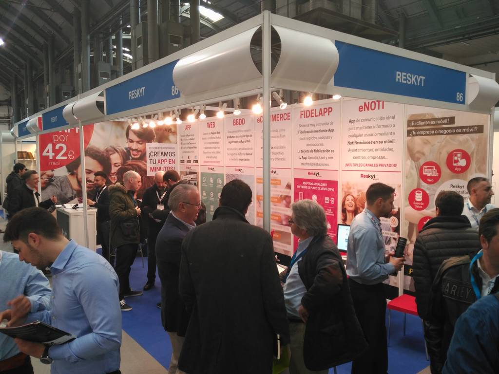Great success at the fair eShow Barcelona