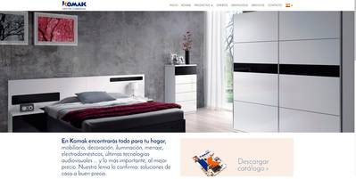 komak - website corporativo