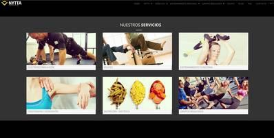 Nytta - website corporativo