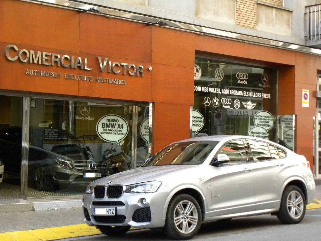 BMW X4 2.0D PAQUETE M