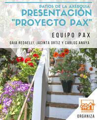 Pax Patios de la Axerquía recibe la designación de «buena práctica» de Madrid