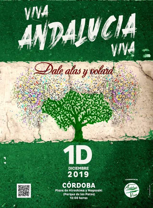 'Andalucía Viva' llama a los andaluces a manifestarse este domingo en Córdoba