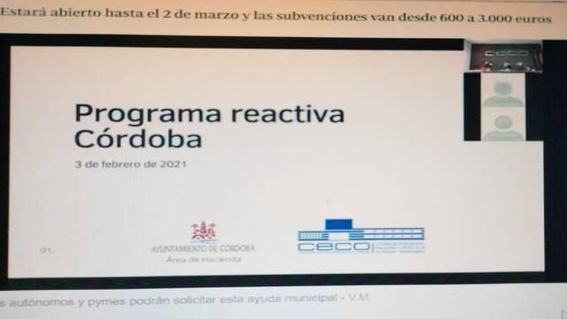 Arranca el plazo para solicitar la ayuda municipal en Córdoba: consulta todo lo que tienes que hacer