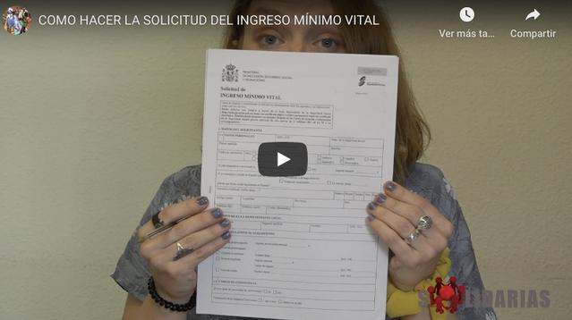 COMO HACER LA SOLICITUD DEL INGRESO MÍNIMO VITAL