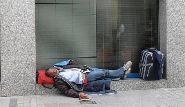 Dormir en la calle: las cifras de un drama social
