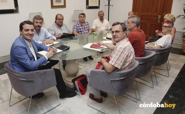 El alcalde mantiene un encuentro institucional con el Consejo del Movimiento Ciudadano