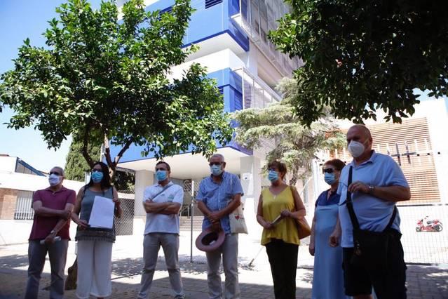 El distrito Sur exige al Ayuntamiento que cumpla el plan de usos de la antigua Magisterio