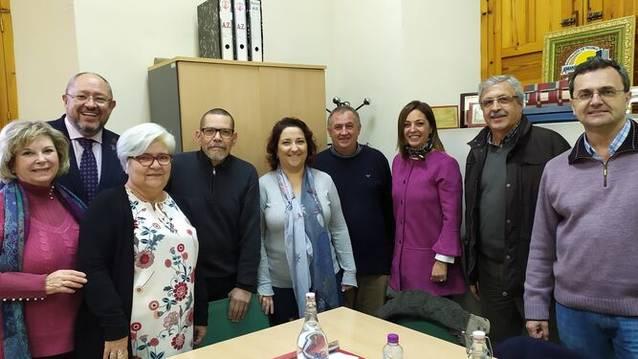 El Grupo Municipal Socialista y la Federación de Vecinos repasan proyectos de la ciudad