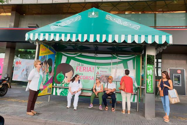 El Movimiento Ciudadano pide fomentar el transporte público en Feria y sanciones por ocupar la vía pública