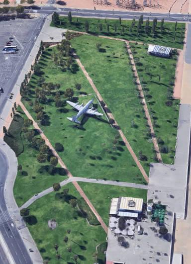 El movimiento ciudadano pide la retirada del avión 'cultural'