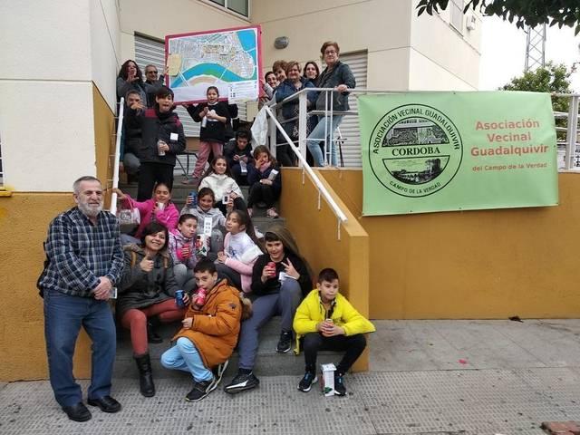 Escolares del Campo de la Verdad señalan los puntos negros y barreras arquitectónicas del barrio