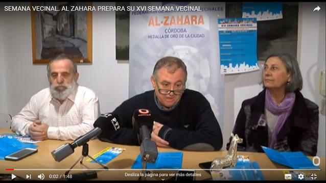 Presentación: La Federación de Asociaciones Vecinales Al Zahara ya prepara su XVI Semana Vecinal
