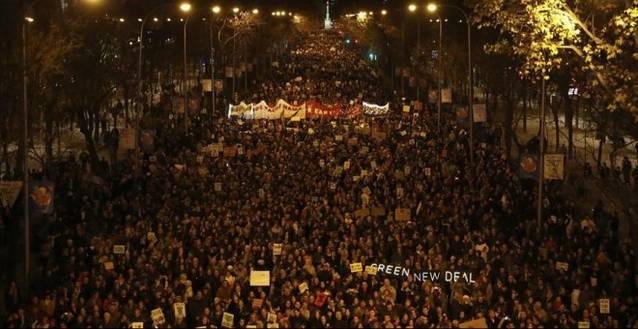 La lucha contra el cambio climático se hace fuerte en Madrid