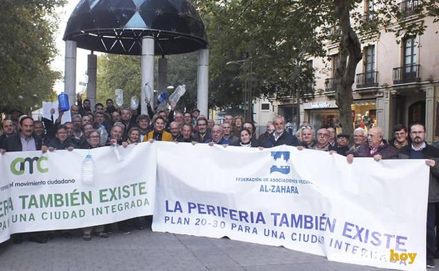 La Periferia urge soluciones para 50.000 residentes y 70 núcleos en suelo no urbanizable