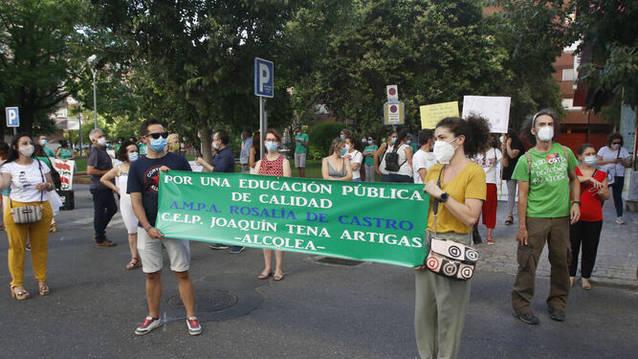 Las Ampas por la educación pública y contra el cierre de unidades vuelven a la calle el próximo jueves