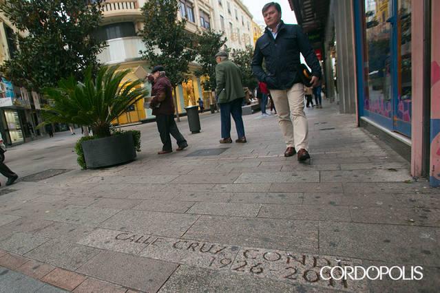 Ya es oficial: desde hoy Cruz Conde y Vallellano tienen que llamarse Foro Romano y Del Flamenco