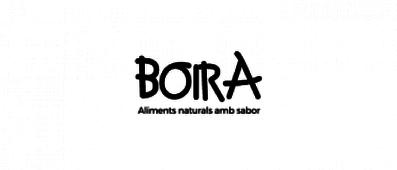 BOIRA, ALIMENTS NATURALS AMB SABOR