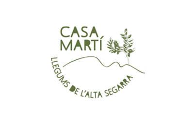 CASA MARTÍ LLEGUMS DE L'ALTA SEGARRA