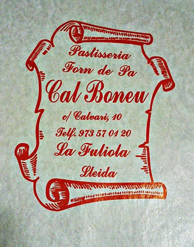FORN DE PA  CAL BONEU