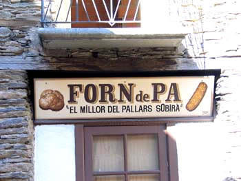 FORN DE PA DE TÍRVIA