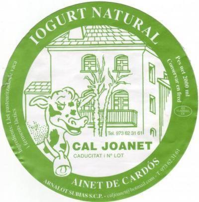 IOGURTS I MATÓ CAL JOANET