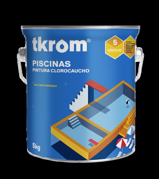 TKROM PISCINAS CLOROCAUCHO