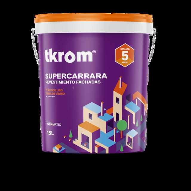 TKROM SUPERCARRARA ELASTICO LISO CON FIBRA