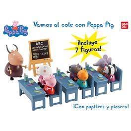 ¡vamos al cole con peppa pig!