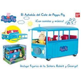 El autobús del cole de peppa pig