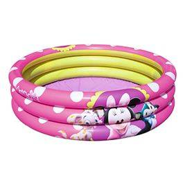 Minnie. Piscina inflable 3 anillos Ø102x25 cm.