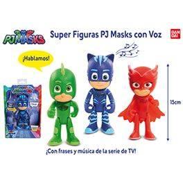 Super figuras PJ Masks con voz