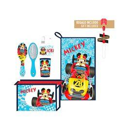 Neceser set aseo personal Mickey Raoadster Racers