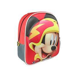 Mochila infantil 3D Mickey Roadster Racers