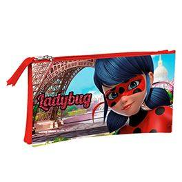 Portatodo triple Ladybug Amour