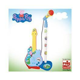 Micro y guitarra Peppa Pig