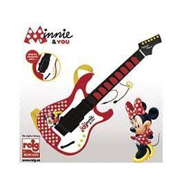 Guitarra c/micro Minnie and you