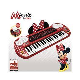 Keyboard c/conex y salida MP3 Minnie and you