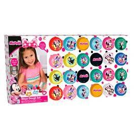 Minnie 24 pzas Mega set de plastilina