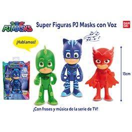 Súper figuras PJ Masks con voz