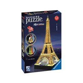 3D Tour Eiffel night edition