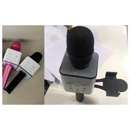 Micro karaoke bluetooh c/soporte móvil 3 colores