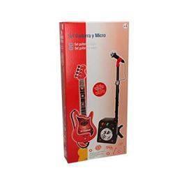 Conjunto flash micro+bafle+guitarra