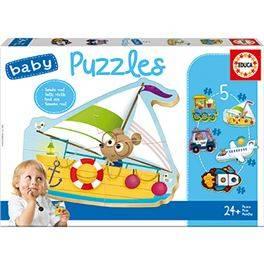 Puzzle infantil Vehículos 2