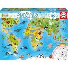 150 Mapamundi Animales