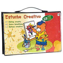 Estuche creativo 68 pzas