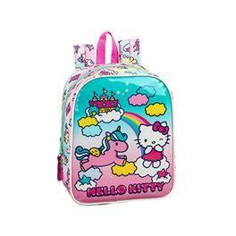 Motxilla guarderia Hello Kitty Candy Unicorns (amb carro 24,95€)