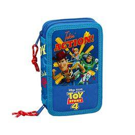 Plumier doble 28 pcs Toy Story 4