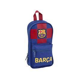 Plumier mochila c/4 portatodos llenos FC Barcelona 1ªequipación 19/20